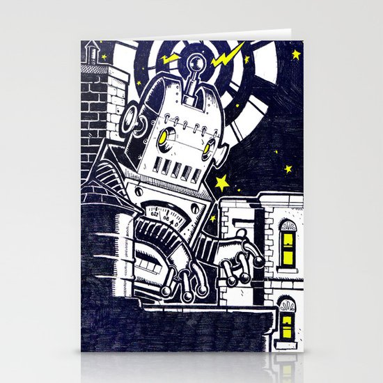 ROBO ATTACK! Stationery Cards
