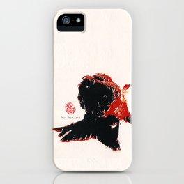 Gold Fish 3 iPhone Case