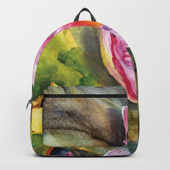 Macro Flower #16 Backpack