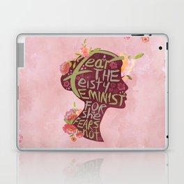 Feisty Feminist Laptop & iPad Skin