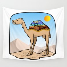 Exalted Camel Wall Tapestry