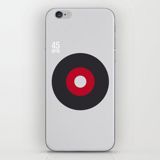 45 RPM iPhone & iPod Skin