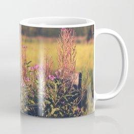 Fall Fireweed at Creamers Field, Fairbanks Alaska Coffee Mug