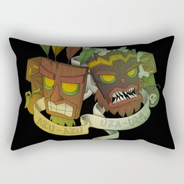 Aku Aku & Uka Uka Rectangular Pillow