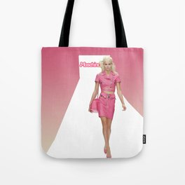 MOSCHINO RUNWAY BARBIE GIRL Tote Bag