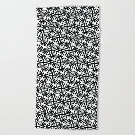 Joshua Tree Patterns by CREYES Beach Towel
