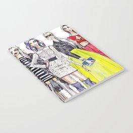 fashionable girls Notebook