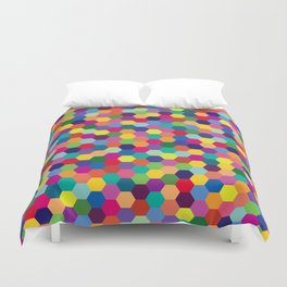 Geometric Pattern #3 Duvet Cover