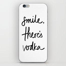 Smile - Vodka iPhone Skin