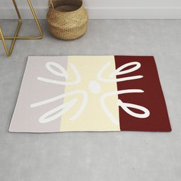 Scribble Abstract Rug