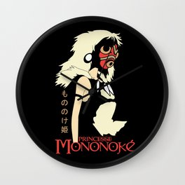 Princess of Mononoke Hime Anime Wall Clock