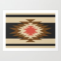 aztec Art Prints featuring Aztec 1 by Aztec
