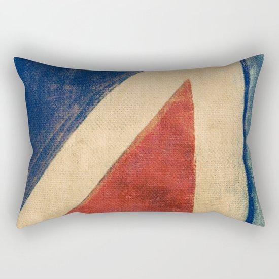 Sails Upwind Rectangular Pillow