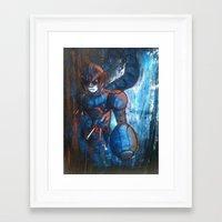 hunter x hunter Framed Art Prints featuring Irregular Hunter X by Doom