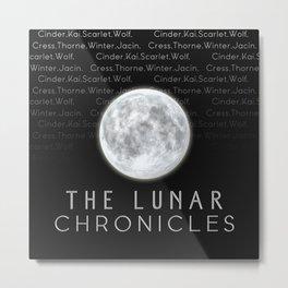 The Lunar Chronicles (Design 2) Metal Print
