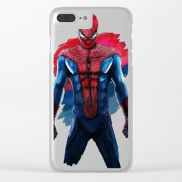 Amazing Spidey Clear iPhone Case