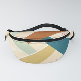Abstract Geometric Shape Fanny Pack