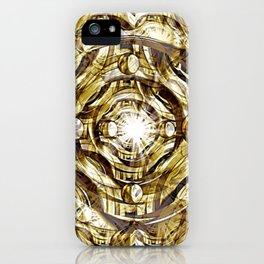 In Hadron Collider. iPhone Case