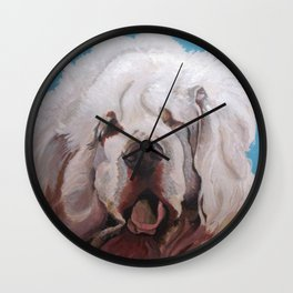 Got Clumber? Wall Clock