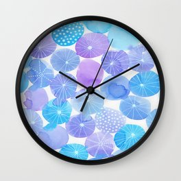 Moonglow rockpool party Wall Clock