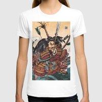 samurai T-shirts featuring Samurai by RICHMOND ART STUDIO