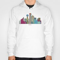 dallas Hoodies featuring Dallas city  by bri.buckley