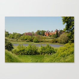 Brandeston Hall & Framlingham College, UK Canvas Print