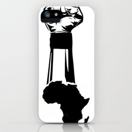 African Map iPhone Case