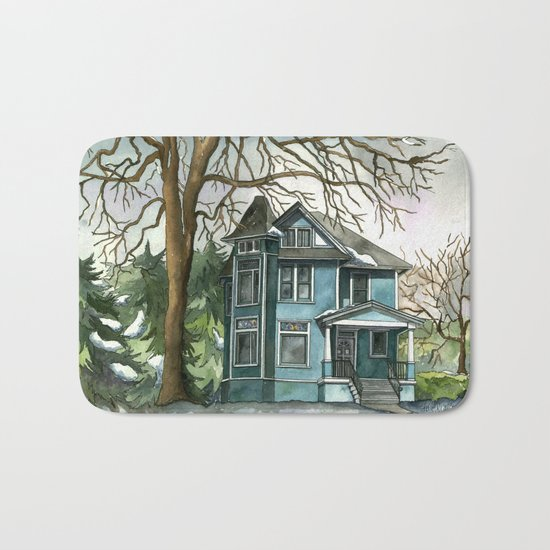 The House Under the Big Tree Bath Mat