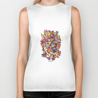 architecture Biker Tanks featuring - dreamed architecture - by Magdalla Del Fresto