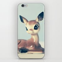 fawn iPhone & iPod Skins featuring Fawn by Hilary Upton
