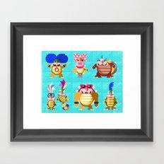 Koopalings! Framed Art Print