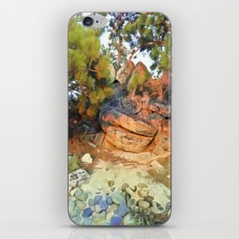 Sunset on the Rocks - Tahoe iPhone Skin