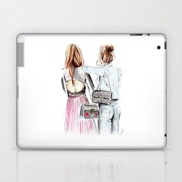 Street style girls Laptop & iPad Skin