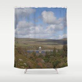 Craig Goch Dam II Shower Curtain
