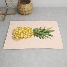 Daisy Pineapple Rug