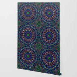 Colorful Church Window Mandala Wallpaper