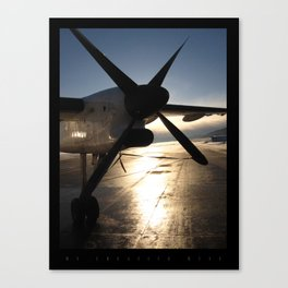 The Luster of the Plane Propeller  Canvas Print