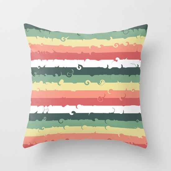 Candy Roll Throw Pillow