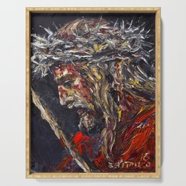 Blood of Christ, Ecce Homo Serving Tray