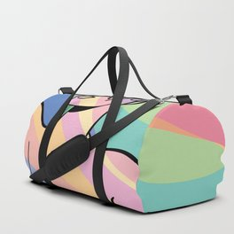 Always Vinyl Art Duffle Bag
