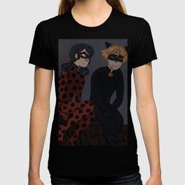 Cat and Ladybug T-shirt