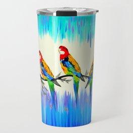 Australian Birds Travel Mug