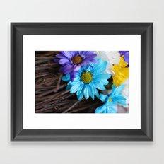 Gerbera daisy Flowers  Framed Art Print