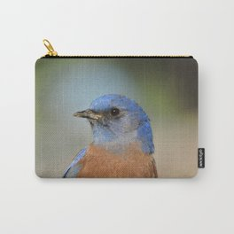Bluebird in La Verne Carry-All Pouch