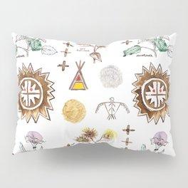 Grandmother Moon, Grandfather Sunflower Pillow Sham