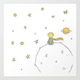 Little Prince III Art Print