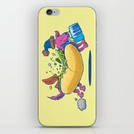 Chicago Dog: Lunch Pail iPhone Skin