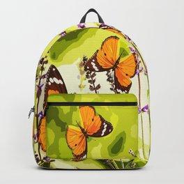 Butterflies and flowers - summery atmosphere in late summer - #pivivikstrm #buyart Backpack