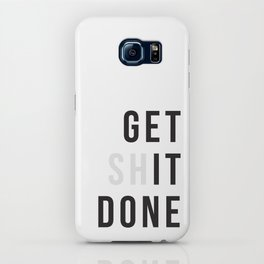 Get Sh(it) Done // Get Shit Done iPhone Case